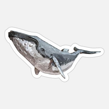 Sjo Humpback Whale - Sticker