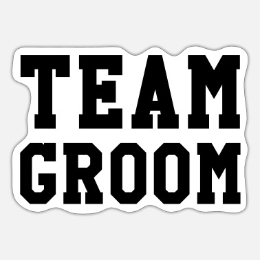 Team Groom - Wedding - Sticker
