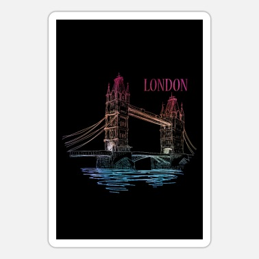 Tower Bridge London Tower Bridge - Sticker