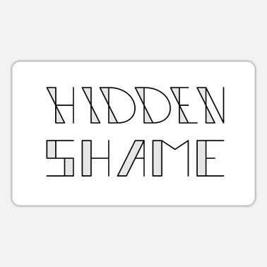 Hidden HIDDEN SHAME - Sticker