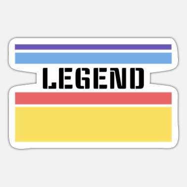 Legende Legende - Sticker