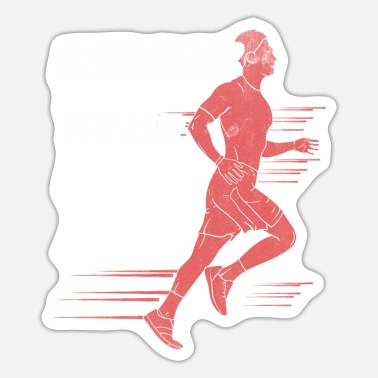 To Jog to jog - Sticker