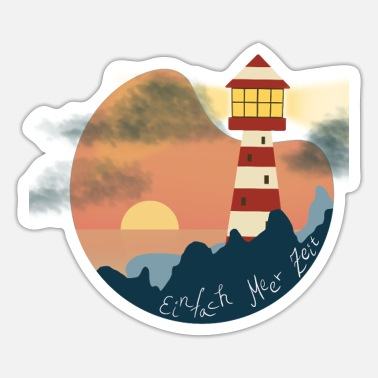 Lighthouse Lighthouse by the sea - lighthouse - Sticker