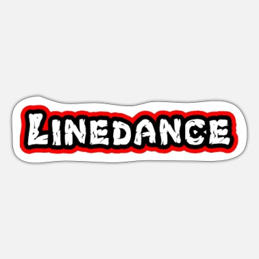 Countrymusic Linedance, western, countrymusic, gift, funny, - Sticker