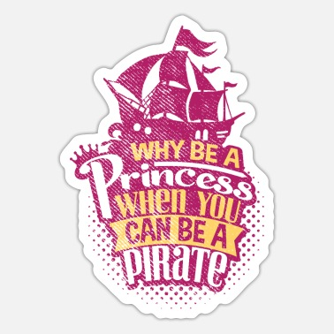 Princess Pirate Pirate princess - Sticker