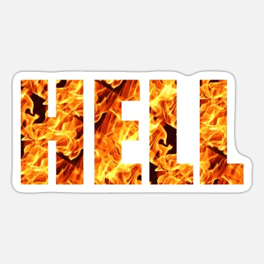 Hell HELL - Sticker