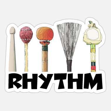 Rhythm - Sticker