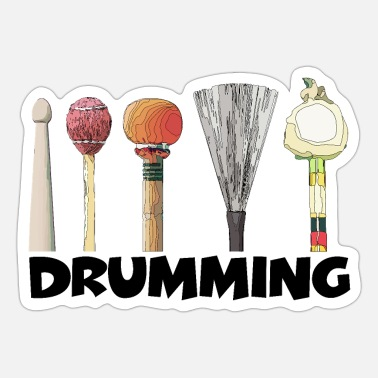 Drumming - Sticker