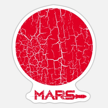 Spreadshirtsale Mars - Sticker