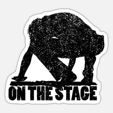 Stage ON THE STAGE - Sticker