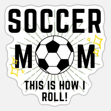 Soccer Soccer MoM - Sticker