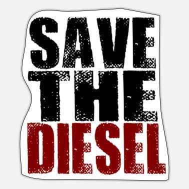 Diesel SAVE THE DIESEL - Save the Diesel! - Sticker