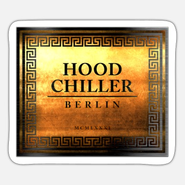 Chill Roma Hood Chiller Berlin - Sticker