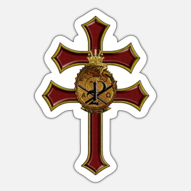 Orders Of Chivalry Labracum cross - Sticker