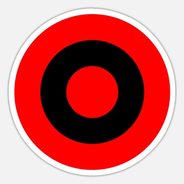 sticker air force roundel albania gift idea - Sticker