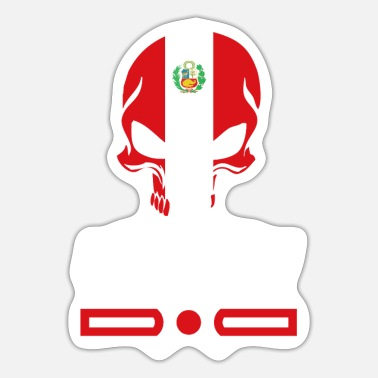 Chiclayo Peru skull design / gift idea - Sticker
