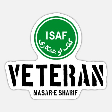 Soldier Of Fortune ISAF Veteran Soldier Afghanistan - Kabul - Soldier - Sticker