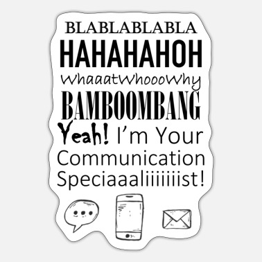 Communication Communication - Sticker