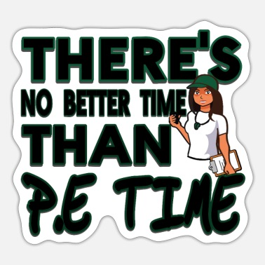 PE teacher - Sticker