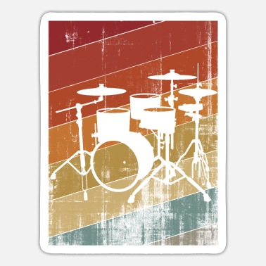 Drum Set Drum set - Sticker