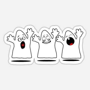 Scare Scared ghosts - Sticker
