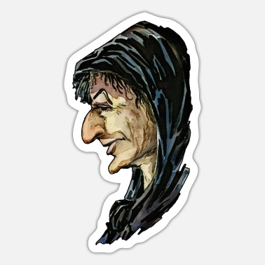 Ghastly The witch - Sticker