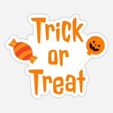 Trick Or Treat Trick or Treat - Naklejka
