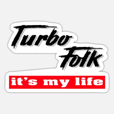 Folk turbo folk - Sticker