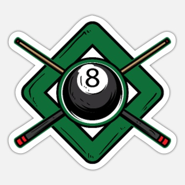 Cue Sports Billiard cue - Sticker