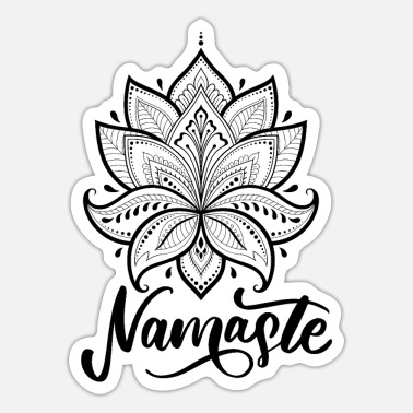 Yoga Yoga - Sticker