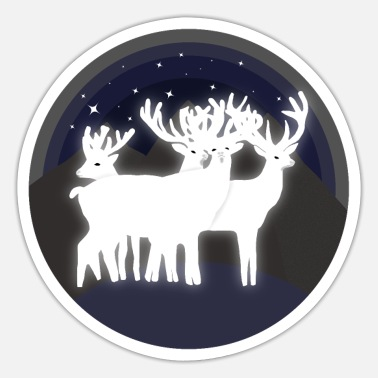 Mythical Mythical reindeer - Sticker