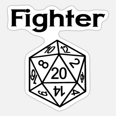 Fighter Fighter - Sticker