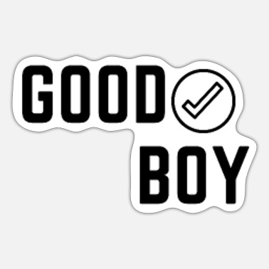 Good Boy Good boy T-shirt - Sticker