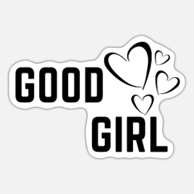 Good Boy Good boy girl - Sticker