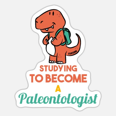 Paleontology paleontology - Sticker