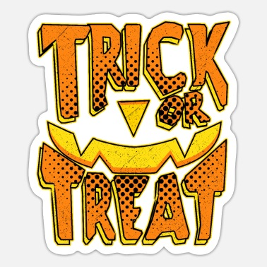 Trick Or Treat Czcionka komiksowa Trick or Treat trick or Treat - Naklejka