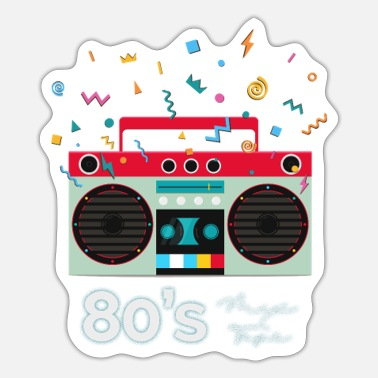 Boom Box Boom box - Sticker