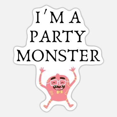 Monster Party Party monsters - Sticker