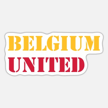 United Belgien United - Sticker