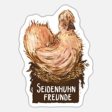 seidenhuhn - Sticker