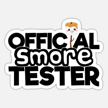 Official S'more Tester - Sticker
