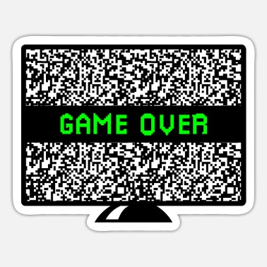Game over - Sticker