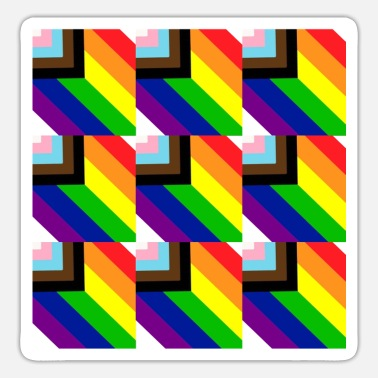 Rainbow Flag Rainbow flag - Sticker
