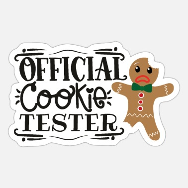 Officielle Officiel cookietester - Sticker