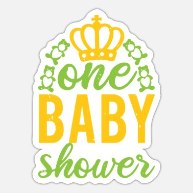 Baby Shower One baby shower - Sticker