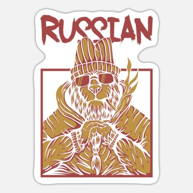 Russisk Russisk - Sticker