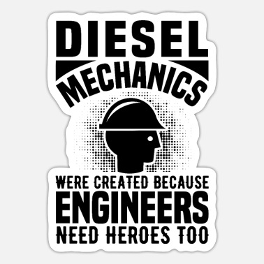 Diesel Diesel mechanics - Sticker