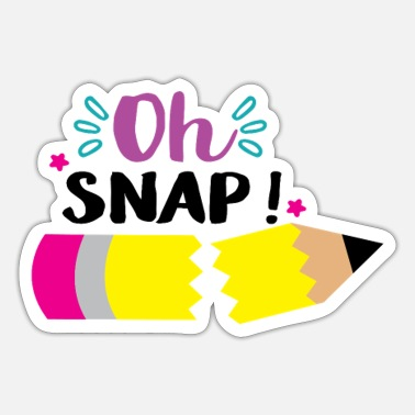 Star Oh snap - Sticker