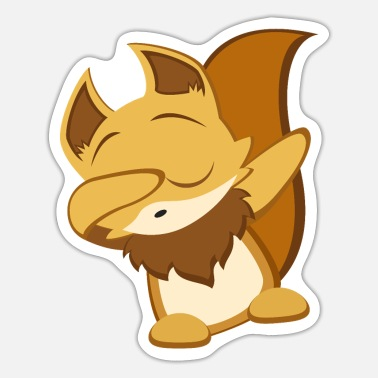 Foxi Dab - Sticker