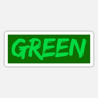 Green green - Sticker